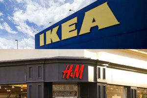 Стало известно, когда в Украине откроются IKEA и H&M