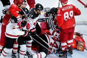 Сборная Канады обыграла Россию в четвертьфинале ЧМ-2018 по хоккею
