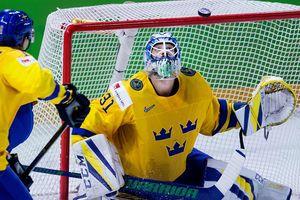 Сборная Швеции с трудом обыграла Латвию в четвертьфинале ЧМ-2018 по хоккею