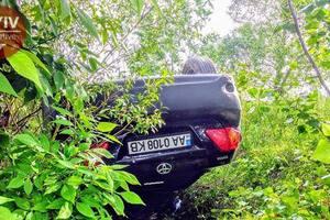 Под Киевом в кустах нашли авто без водителя