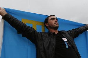 Как в Киеве почтили память жертв депортации крымских татар