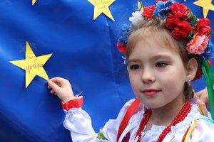 В Украине отмечают День Европы