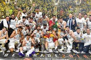 """""""Реал"""" в десятый раз выиграл баскетбольную Евролигу"""