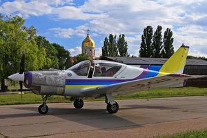 """В Одессе испытывают новый самолет  """"Дельфин"""""""