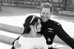Опубликованы официальные фото со свадьбы принца Гарри и Меган Маркл