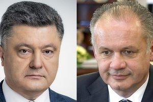Саммит НАТО и экономическое сотрудничество: что обсуждал Порошенко с президентом Словакии