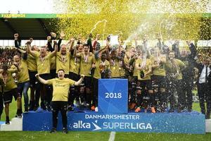 Украинский футболист стал чемпионом Дании