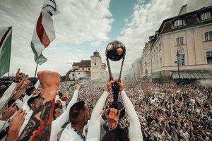 """""""Легия"""" стала чемпионом Польши благодаря технической победе"""