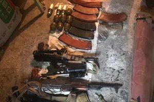 СБУ обнаружила на Донбассе тайник с оружием и боеприпасами