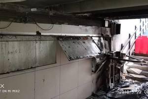 В Киеве на станции скоростного трамвая повредили подъемники для людей с инвалидностью