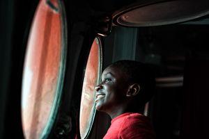 В африканской стране спасли 400 нелегалов