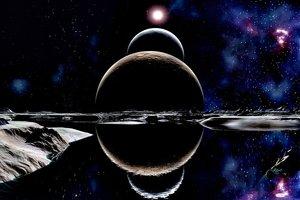 В солнечной системе найдены планеты с немыслимыми запасами воды