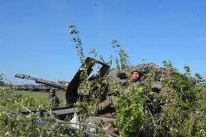 Боевики накрыли из артиллерии позиции ВСУ в районе Талаковки