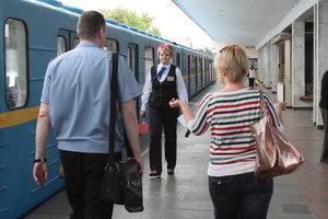 В киевском метро посчитали зацеперов