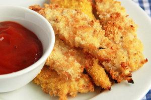 Куриное филе в хлебных крошках: рецепт Джейми Оливера