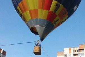 Полет на воздушном шаре: как школьники Львова отмечают конец учебы
