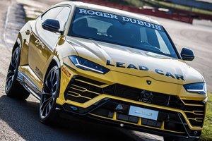 """Lamborghini показала """"гоночный"""" внедорожник Urus"""