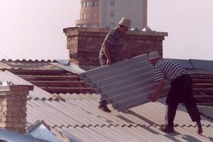 Украинские стройки оставили без российского шифера