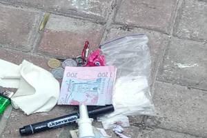 В Киеве задержали скутериста с амфетамином