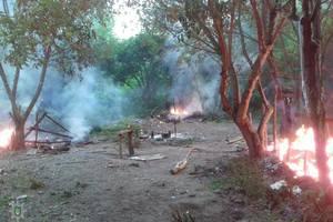 Возле Тернополя сожгли табор ромов