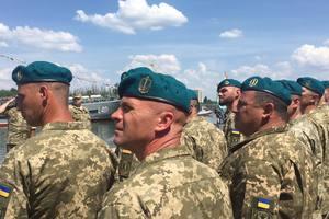 Морская пехота Украины сменила цвет беретов - Порошенко