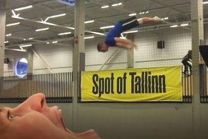Видеохит: трюки эстонских акробатов стали хитом сети