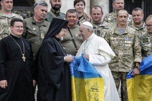 Папа Римский пообещал помолиться за мир в Украине
