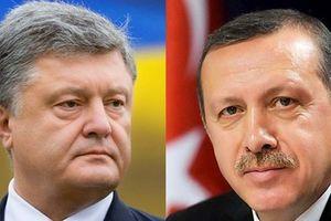 Порошенко и Эрдоган обсудили соглашение о свободной торговле