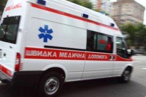 В центре Запорожья из окна недостроенной многоэтажки выпала девочка