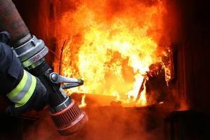 Во Львове в жилом доме произошел пожар: пострадала  женщина