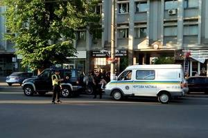 Расстрел депутата в Черкассах: появилось оперативное видео