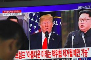 """Военные США готовы ответить на """"бездумные действия"""" КНДР - Трамп"""