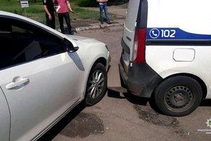 В Харьковской области девушка устроила гонки с полицией и протаранила копов