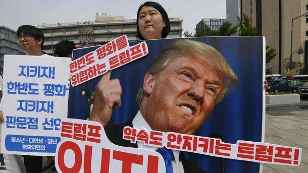 Ким Чен Ынназвал Трампа слабохарактерным