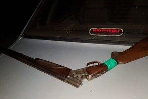 В Украинке мужчина после ссоры с бывшей женой напился и устроил стрельбу с балкона