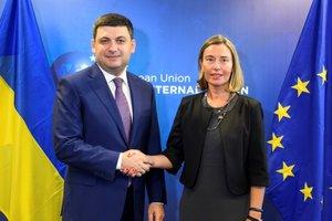 Гройсман – Могерини: Украинская ГТС надежна для Европы, а от России гарантий никаких