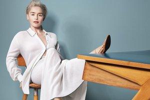 Эмилия Кларк примерила нежные образы для летнего номера Vanity Fair