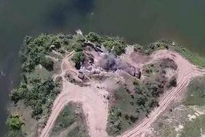 Полный разгром позиций боевиков на Донбассе: появилось эффектное видео