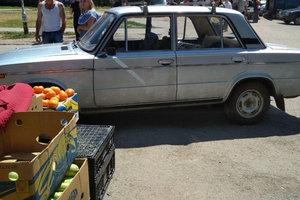 В Запорожье пьяный водитель врезался в рынок