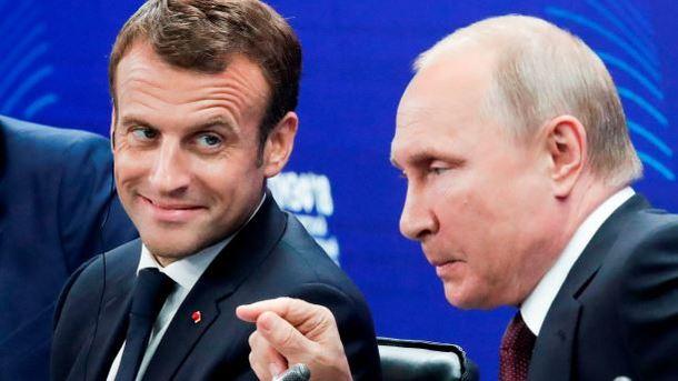 Путин объявил овзаимовыгодности отношений сФранцией