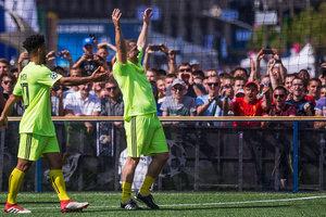 """Сергей Ребров: """"Кличко - качественный вратарь, голов ведь не пропустил"""""""