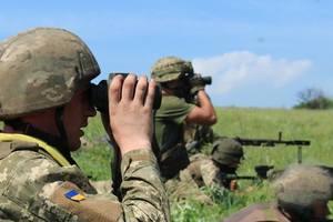 Боевики атаковали ВСУ на Светлодарской дуге и у Попасной, но получили по зубам