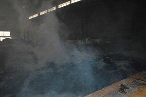 Масштабный пожар в Днепре: горел завод по переработке аккумуляторных батарей