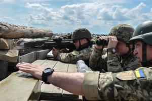 Бойцы ВСУ под Мариуполем ликвидировали снайпера боевиков