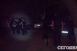 Полиция отпустила участника конфликта со Стерненко