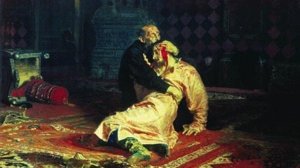 Гость Третьяковской галереи поломал картину Репина | Искусство
