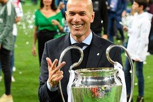 Зидан - первый тренер, выигравший три Лиги чемпионов подряд