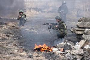 ВСУ уничтожили командно-наблюдательный пункт боевиков: враг понес большие потери