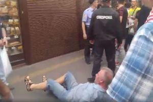 Избиение военного пенсионера в Киеве: появилось видео удара и фото нападавшего
