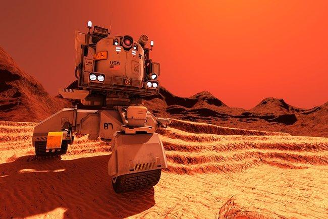 Где наМарсе могли сохраниться следы жизни